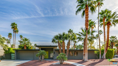 Palm Springs Single Family Home Contingent: 1994 S Yucca Place