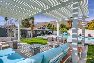 Palm Springs Single Family Home For Sale: 1162 E El Escudero