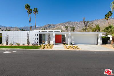 Palm Springs Single Family Home For Sale: 2651 W Kings Road