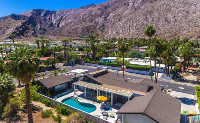 Palm Springs Single Family Home For Sale: 450 S Monte Vista Drive
