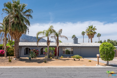 Palm Springs Single Family Home Contingent: 1955 N San Clemente Road