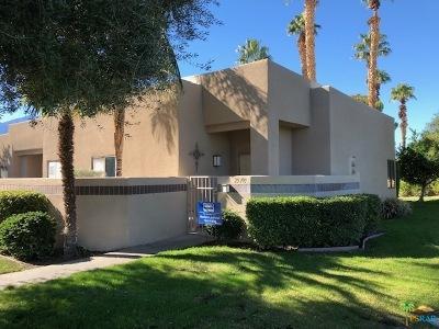 Cathedral City Condo/Townhouse For Sale: 29109 E Portales Drive