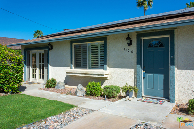 Palm Desert Country Single Family Home Contingent: 77010 New York Avenue