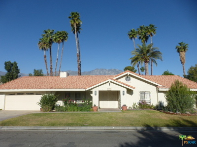 Palm Springs Single Family Home For Sale: 2175 S Pebble Beach Drive