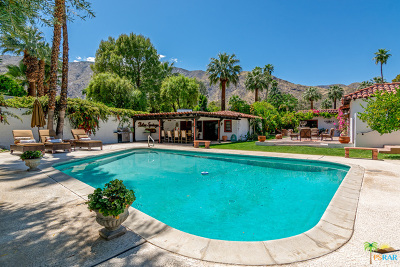 Palm Springs Single Family Home For Sale: 435 W Vereda Sur
