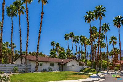 Palm Springs Single Family Home For Sale: 3169 E Cajon Circle