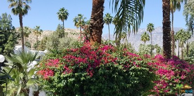 Palm Springs Condo/Townhouse For Sale: 5300 E Waverly Drive #A7