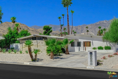 Palm Springs Single Family Home Contingent: 2121 S Broadmoor Drive