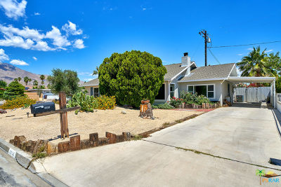 Palm Springs Single Family Home Contingent: 3714 E Calle San Raphael
