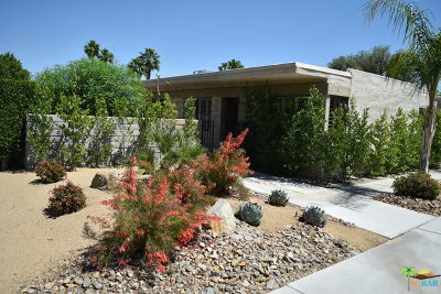 Palm Springs Condo/Townhouse For Sale: 2042 E Chia Road