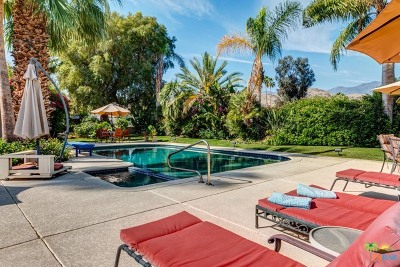 Palm Springs Single Family Home Contingent: 5200 Menlo Circle
