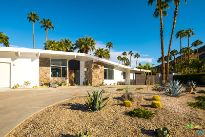 Palm Springs Single Family Home For Sale: 810 N Rose Avenue
