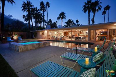 Palm Springs Single Family Home Contingent: 1479 E San Lorenzo Road