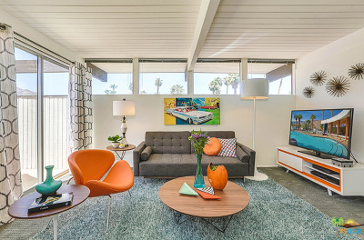 Palm Springs Condo/Townhouse For Sale: 1111 E Palm Canyon Drive #219