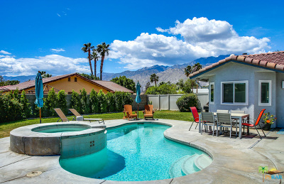 Palm Springs Single Family Home For Sale: 2042 N Los Alamos Road