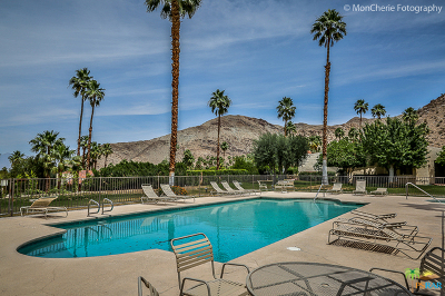 Palm Springs Condo/Townhouse For Sale: 3608 E Bogert #A