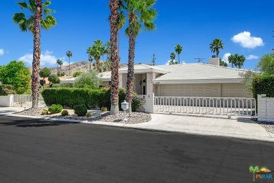 Palm Springs Single Family Home Contingent: 1107 E Marion Way