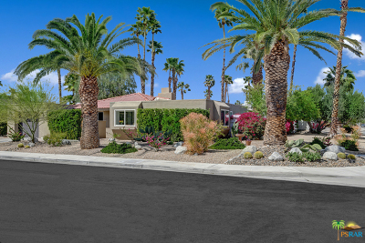 Palm Springs Single Family Home Contingent: 1390 E Gem Circle