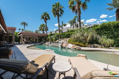 Palm Springs Single Family Home For Sale: 821 N Via Miraleste