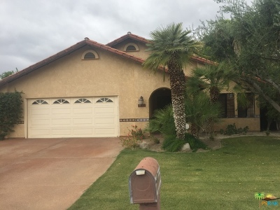 Cathedral City Single Family Home Contingent: 68745 Durango Road