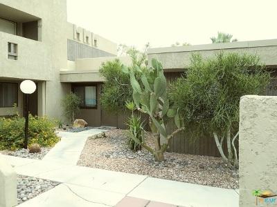 Palm Springs Condo/Townhouse For Sale: 406 Bradshaw Lane #80