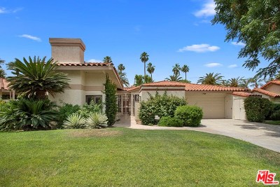 Indian Wells Single Family Home Sold: 44035 Superior Court