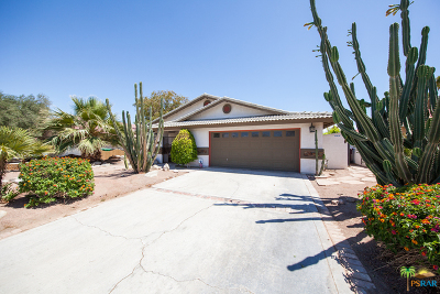 Single Family Home For Sale: 68435 Tachevah Drive