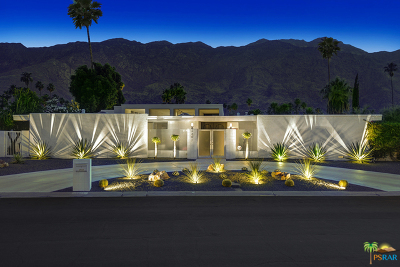 Palm Springs Single Family Home Contingent: 2401 S Yosemite Drive