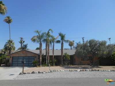 Palm Springs Single Family Home Contingent: 839 E San Lorenzo Road