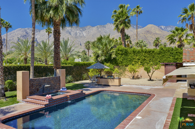 Palm Springs Single Family Home For Sale: 355 W Vista Chino