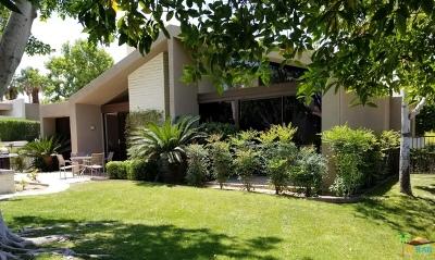 Palm Desert Condo/Townhouse Sold: 73721 Club Circle Drive #414