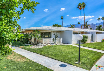 Palm Springs Condo/Townhouse For Sale: 2240 S Calle Palo Fierro #16