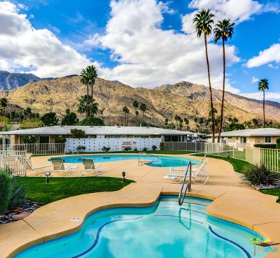 Palm Springs Condo/Townhouse Contingent: 2220 S Calle Palo Fierro #19