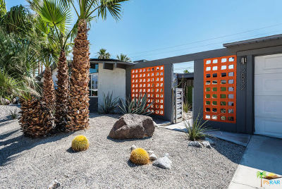 Palm Springs Single Family Home Contingent: 2832 N Davis Way