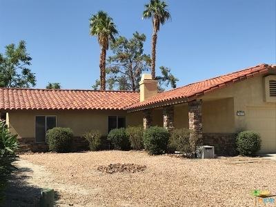 Palm Desert Single Family Home Sold: 76600 Florida Avenue