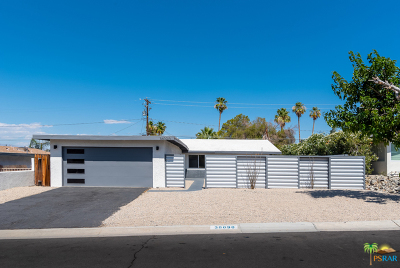 Cathedral City Single Family Home For Sale: 38090 Chris Drive