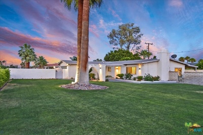 Palm Springs Single Family Home Contingent: 2525 E Verona Road