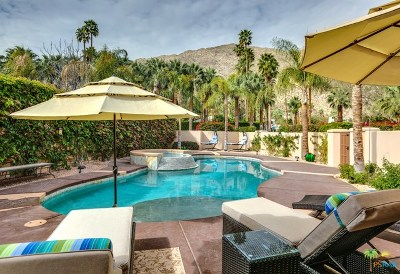 Palm Springs Single Family Home For Sale: 1978 S Mesa Drive