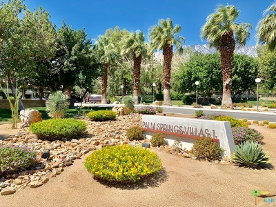 Palm Springs Condo/Townhouse For Sale: 575 N Villa Court #114