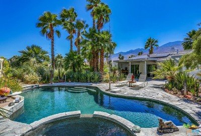 Palm Springs Single Family Home For Sale: 546 N Sunset Way