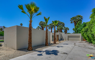 Palm Springs CA Single Family Home For Sale: $2,499,000