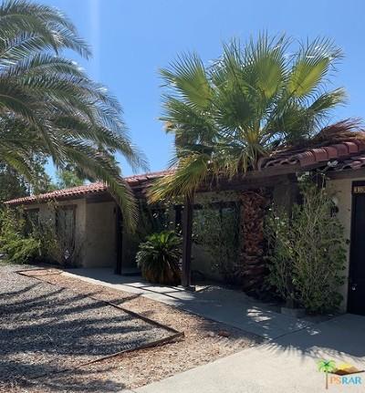 Palm Springs Single Family Home Contingent: 1383 E Via Escuela