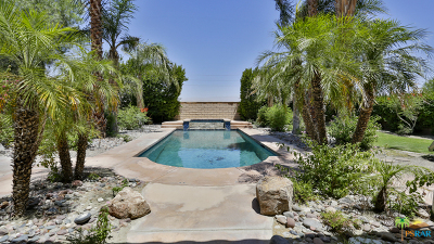Rancho Mirage Single Family Home Contingent: 111 Clearwater Way
