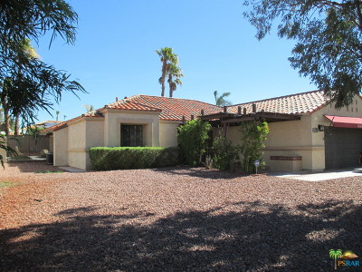 Palm Springs Single Family Home For Sale: 1476 E Luna Way