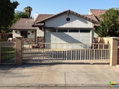 Indio Single Family Home Contingent: 81372 Palmwood Drive