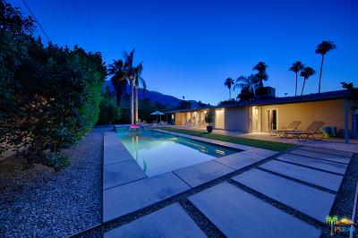 Palm Springs Single Family Home Contingent: 887 E San Lorenzo Road