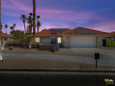 Palm Springs Single Family Home For Sale: 1440 E Racquet Club Road