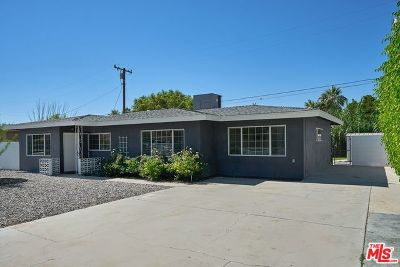Palm Springs Single Family Home For Sale: 4193 E Calle San Raphael