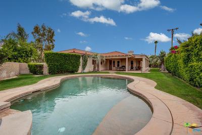 Palm Springs Single Family Home Contingent: 2781 Princess Lane