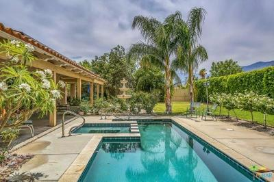 Palm Springs Single Family Home For Sale: 1820 E Racquet Club Road